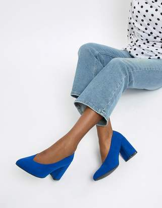 e55d627440c53 Blue Block Heel Heels - ShopStyle UK