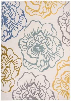 World Rug Gallery Nevada Modern Floral Rug