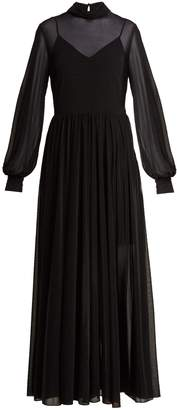 Diane von Furstenberg High-neck maxi dress