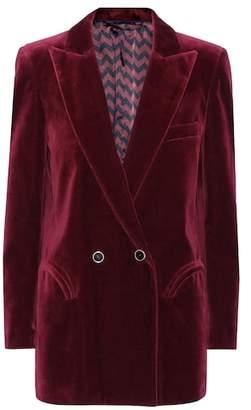 Blazé Milano Exclusive to mytheresa.com – Everyday velvet blazer