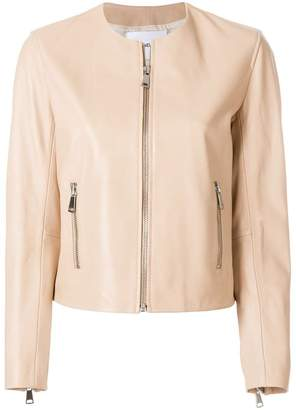 Dondup cropped leather jacket