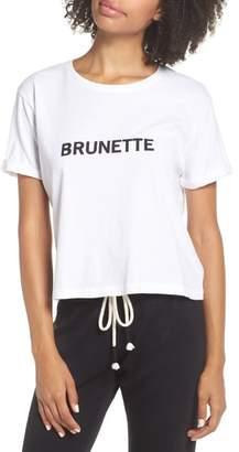 BRUNETTE the Label Brunette Crop Tee