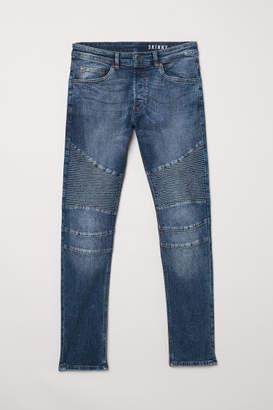 H&M Biker Jeans - Blue