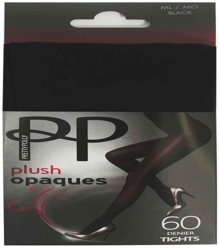 Pretty Polly 60 Denier Plush Opaque Tights