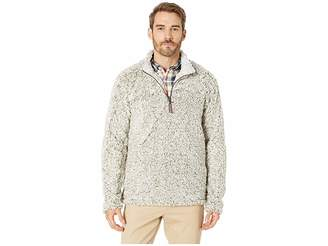 True Grit Frosty Tipped Pile 1/4 Zip Pullover