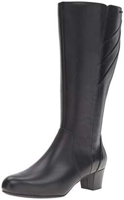 Rockport Women's Total Motion Cresenthia Wide Calf Riding Boot