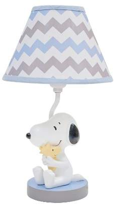Lambs & Ivy Peanuts Lamp w/ Shade & Bulb - My Little Snoopy
