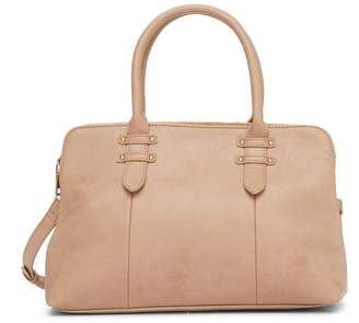 Urban Expressions Huckleberry Vegan Leather Satchel