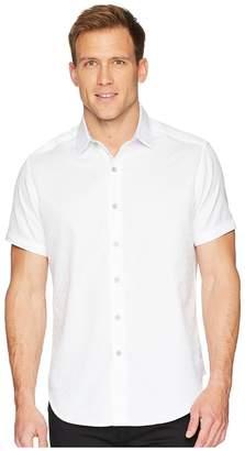 Robert Graham Diamante Short Sleeve Sports Shirt Men's Clothing