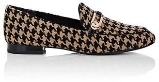 Stella Luna Women's Houndstooth Tweed Loafers