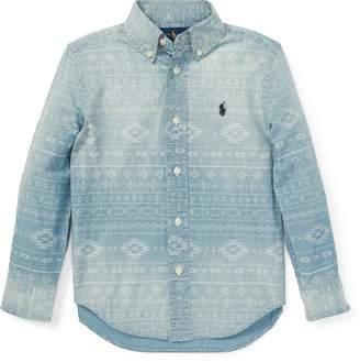 Ralph Lauren Southwestern Chambray Shirt