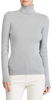 Lauren Ralph Lauren Metallic Turtleneck Sweater
