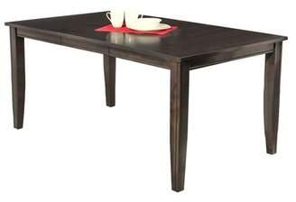 Red Barrel Studio Haan Solid Wood Dining Table Red Barrel Studio