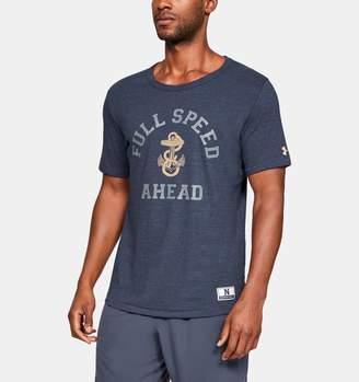 Under Armour Men's UA Iconic Tri-Blend Collegiate Short Sleeve Shirt