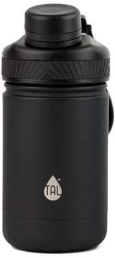 TAL 12oz Ranger Kid's Stainless Steel Water Bottle - Black