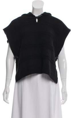 Etoile Isabel Marant Hooded Knit Poncho