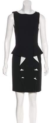 Emilio Pucci Ruffle Wool-Blend Dress w/ Tags