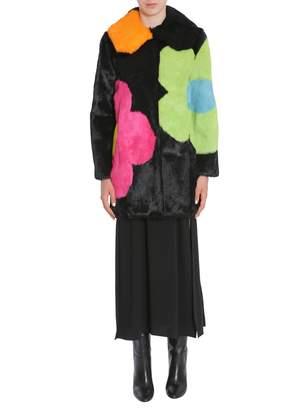 Moschino Long Fur Coat