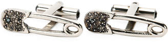 Alexander McQueen Safety Pin Cuff Links