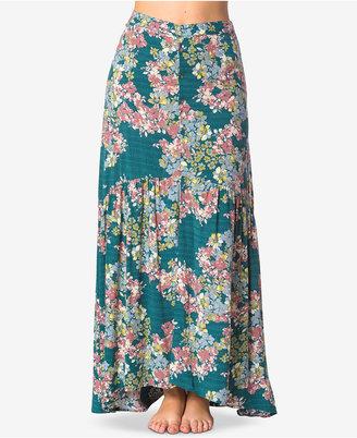 O'Neill Juniors' Samara Floral-Print Maxi Skirt $54 thestylecure.com