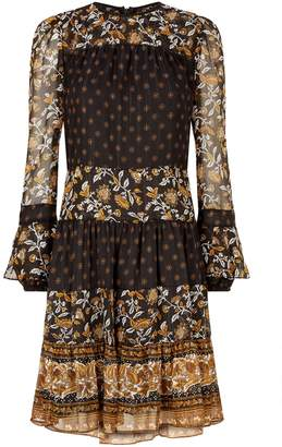 MICHAEL Michael Kors Floral Smock Dress