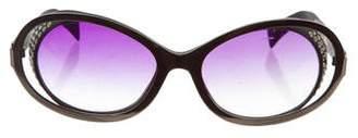 Alain Mikli Embellished Gradient Sunglasses