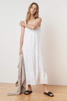 Velvet by Graham & Spencer CELINDA SOFT COTTON GAUZE MAXI DRESS