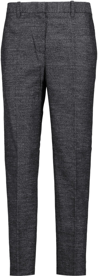 3.1 Phillip Lim 3.1 Phillip Lim Cropped wool and linen-blend bouclé straight-leg pants
