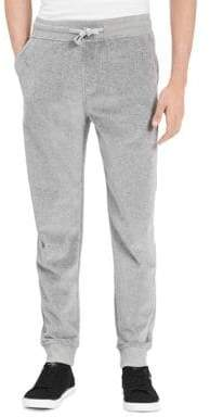 Calvin Klein Jeans Heathered Drawstring Sweatpants