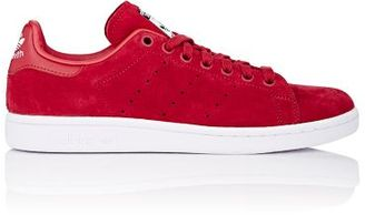 adidas Women's Stan Smith Sneakers-RED $90 thestylecure.com