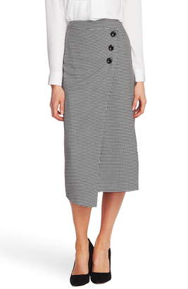 Vince Camuto Houndstooth Pencil Skirt