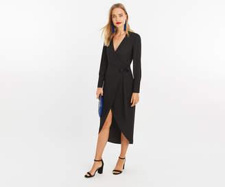 Oasis LONG WRAP SHIRT DRESS