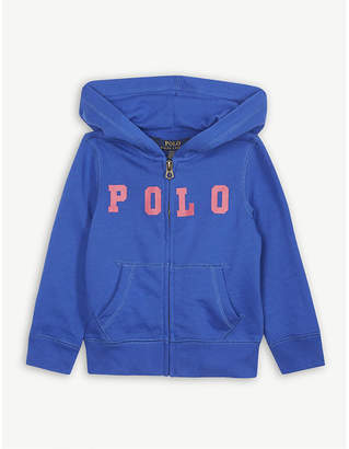 Ralph Lauren Polo zipped cotton-blend hoody 2-4 years