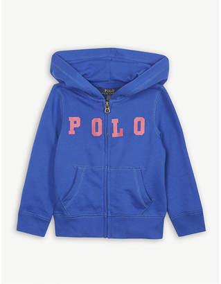 Ralph Lauren Polo zipped cotton-blend hoody 2-4 years