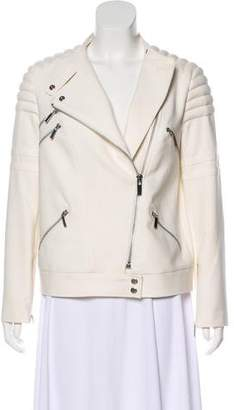 Elizabeth and James Asymmetrical Long Sleeve Jacket