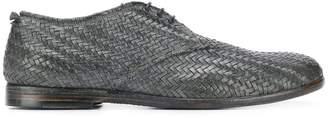 Silvano Sassetti woven lace-up shoes