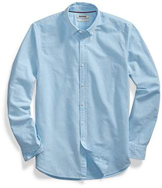 Goodthreads Men's Standard-Fit Long-Sleeve Solid Oxford Shirt with Pocket
