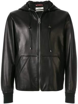 Bally X Swiss hooded jacket
