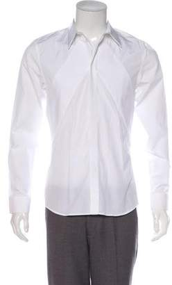 Givenchy Point Collar Button-Up Shirt w/ Tags