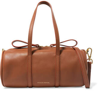 Mansur Gavriel Mini Mini Duffle Leather Shoulder Bag - Light brown