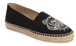 Kenzo Women's Kenzo Tiger Embroidered Espadrille