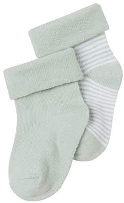 Noppies Unisex Baby U Socks 2-pck Zoë stripe Striped Calf Socks