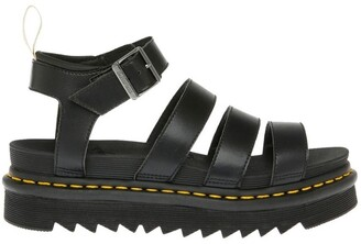 Dr. Martens Vegan Blaire Black Sandal