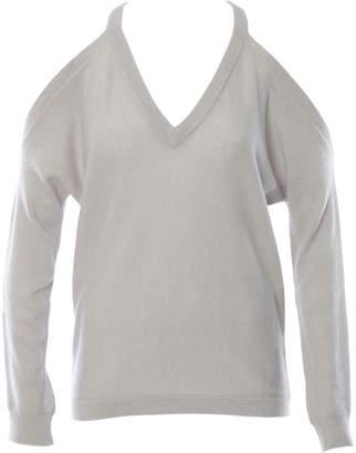 Minnie Rose Open Shoulder Sweater