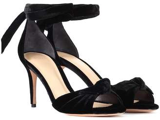Alexandre Birman New Clarita Midi velvet pumps