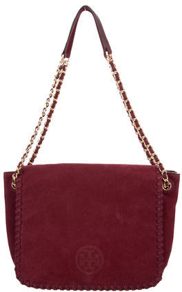 Tory BurchTory Burch Marion Suede Small Flap Bag