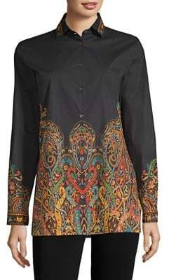 Etro Scroll Paisley Shirt