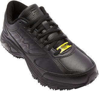 Fila Memory Flux Womens Slip-Resistant Sneakers $70 thestylecure.com