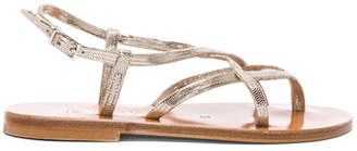 K. Jacques Blueut Sandals