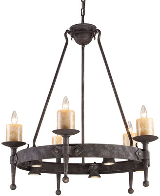 Cambridge Silversmiths Elk Lighting 5-Light Chandelier